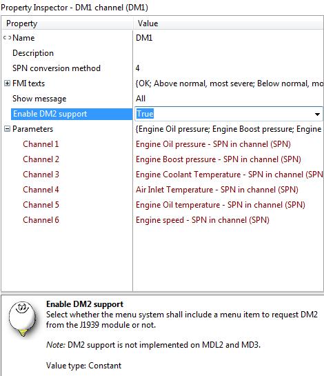 J1939 DM2 viewing / Software / IQAN