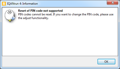 PCC PIN channel not be able to reset / Software / IQAN