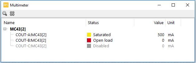 IQANrun measuring COUT status